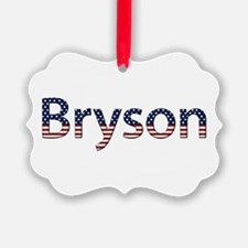 Bryson Stars and Stripes Ornament