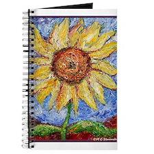 Sunflower!Colorful flower art! Journal