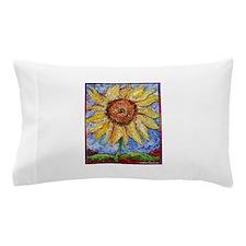 Sunflower!Colorful flower art! Pillow Case