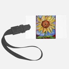 Sunflower!Colorful flower art! Luggage Tag