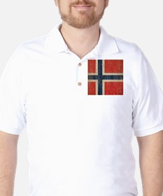 Vintage Norway Flag T-Shirt