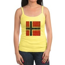 Vintage Norway Flag Ladies Top