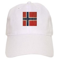 Vintage Norway Flag Baseball Cap