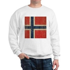 Vintage Norway Flag Sweatshirt