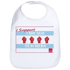 Chicago Teachers Flag Bib