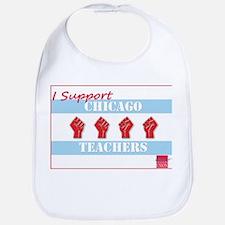 Chicago Teachers Flag Bib
