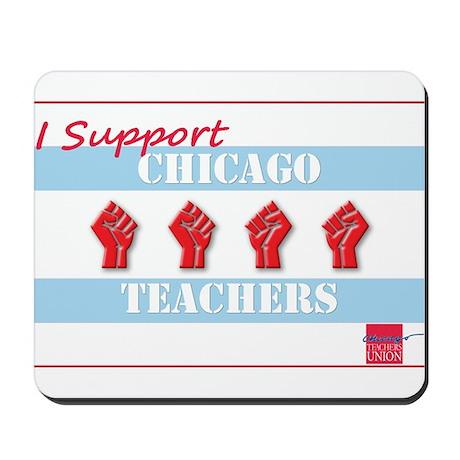 Chicago Teachers Flag Mousepad