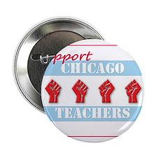 "Chicago Teachers Flag 2.25"" Button"