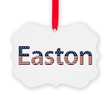 Easton Stars and Stripes Picture Ornament