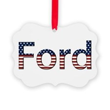 Ford Stars and Stripes Ornament
