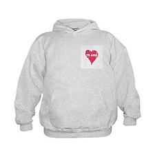 te amo kids hoodie