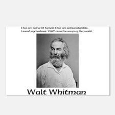 Whitmans Barbaric Yawp Postcards (Package of 8)