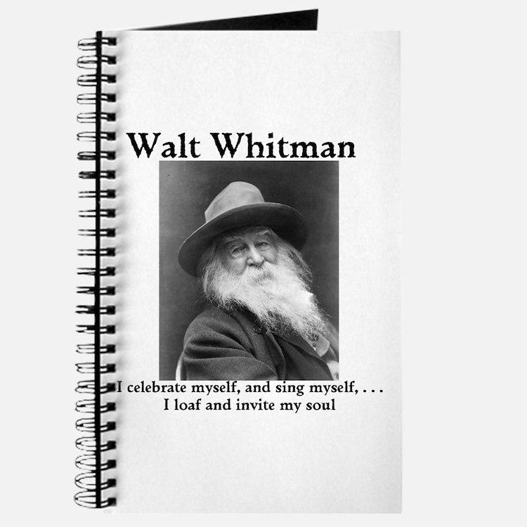 Walt Whitman celebrates himself! Journal