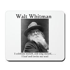 Walt Whitman celebrates himself! Mousepad