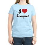 I Love Croquet Women's Light T-Shirt