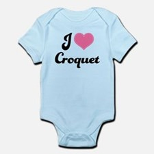 I Love Croquet Infant Bodysuit