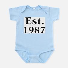 Est. 1987 Infant Creeper