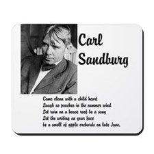 Carl Sandburg Mousepad