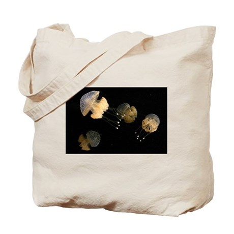 4 Spotted Jellies Tote Bag