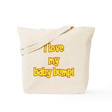 I love my baby bump Tote Bag