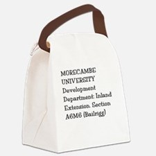 Morecambe University Canvas Lunch Bag