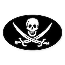 Calico Jack Flag Decal