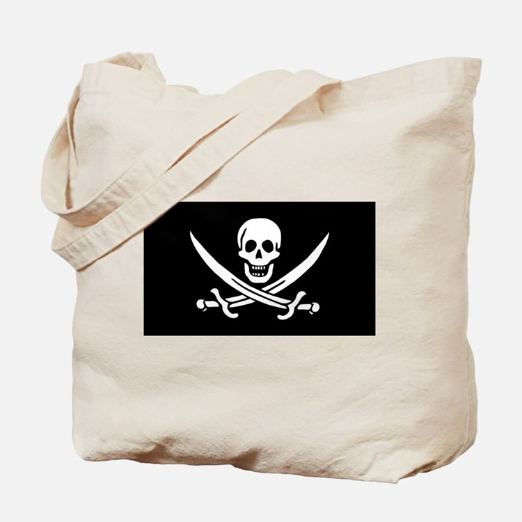 Calico Jack Flag Tote Bag