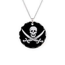 Calico Jack Flag Necklace