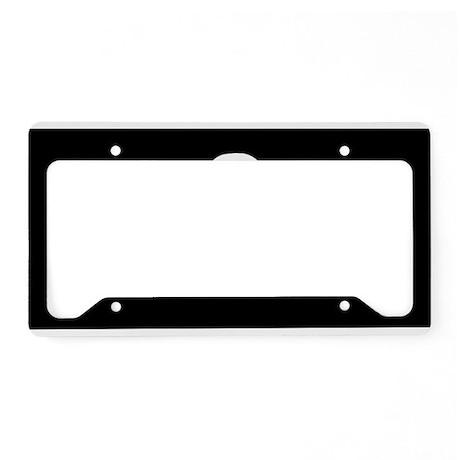 Calico Jack Flag License Plate Holder