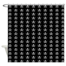 Calico Jack Flag Shower Curtain