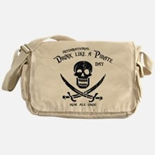 Drink Like a Pirate Messenger Bag