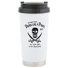 Drink Like a Pirate Travel Coffee Mug