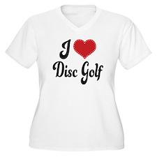 I Love Disc Golf T-Shirt