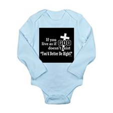 james green Long Sleeve Infant Bodysuit