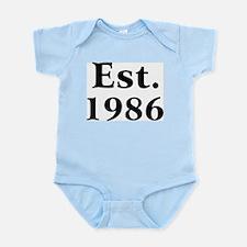 Est. 1986 Infant Creeper