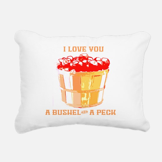Bushel and a Peck Rectangular Canvas Pillow