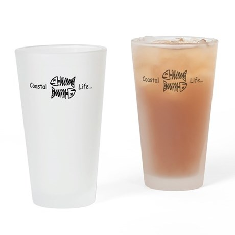 Coastal life Drinking Glass