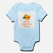 Sweet Southern Peach Infant Bodysuit