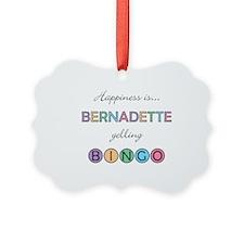 Bernadette BINGO Ornament