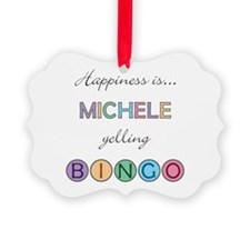 Michele BINGO Ornament