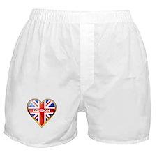 Union Jack Heart Boxer Shorts