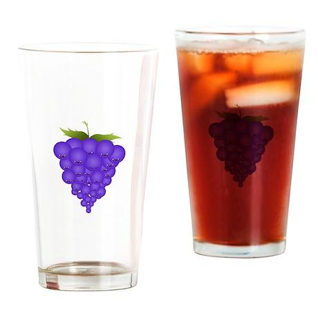 Buncha Grapes Drinking Glass