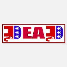 GOP Dead! Bumper Bumper Sticker