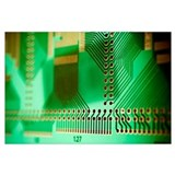Printed circuit board Framed Prints