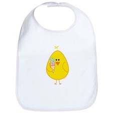 Ice Cream Chick Bib