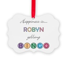 Robyn BINGO Ornament