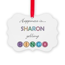 Sharon BINGO Ornament