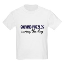 Solving Puzzles, Saving the Day T-Shirt