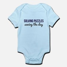 Solving Puzzles, Saving the Day Infant Bodysuit