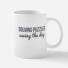 Solving Puzzles, Saving the Day Mug